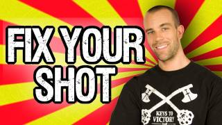 "How To ""FIX YOUR SHOT!!!"" Interactive Basketball Shooting"