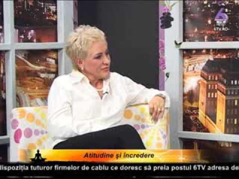 Invata sa ai o atitudine pozitiva si incredere in tine! Cu Loredana Latis la 6TV cu Lidia Fecioru