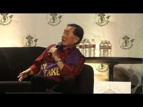 ECCC 2012 – George Takei Panel Video