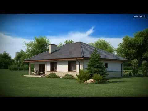 Projekty Z500 - projekt domu Z10