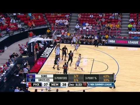 Phoenix Suns vs Memphis Grizzlies Summer League Recap