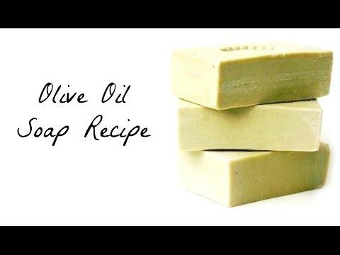 Super Easy Olive Oil Soap for Beginners DIY