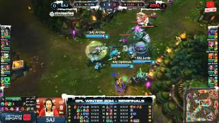 [GPL 2014 Mùa Đông] [Bán Kết 1] [Game 2] Azubu Taipei Assassins vs Saigon Jokers [18.12.2013]