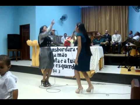 Quem me ver cantando Aidimes e Michele na AD. Madureira de Itabuna-ba