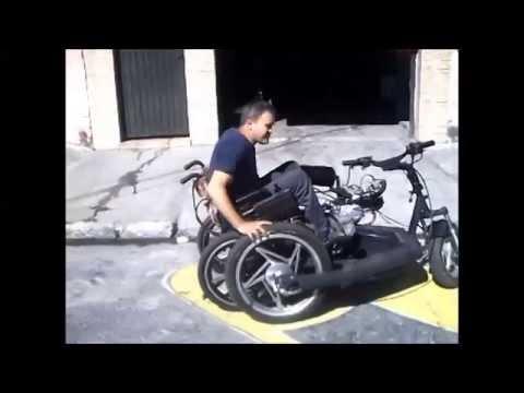 Cadeira de rodas - plataforma motorizada