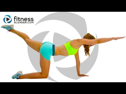 At Home Cardio Workout to Burn Fat and Tone (High & Low Impact Modifications)