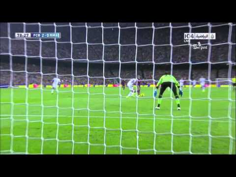 Alexis GOLAZO Barcelona vs Real Madrid 2013 HD con relatos de Cadena Ser