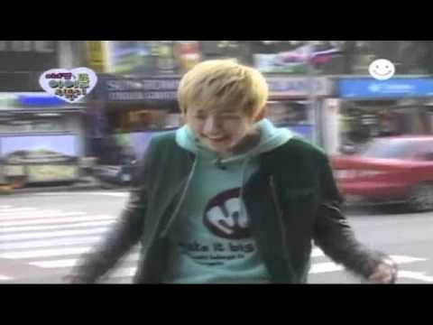 U-Kiss Eli & Dongho dance on the street/Dongho speaks eng