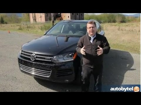 2013 Volkswagen Touareg Hybrid Test Drive & Supercharged SUV Video Review