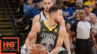Golden State Warriors vs San Antonio Spurs Full Game Highlights / Feb 10 / 2017-18 NBA Season