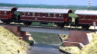 Modelleisenbahn vom Spur N Bahn Stammtisch Braunschweig