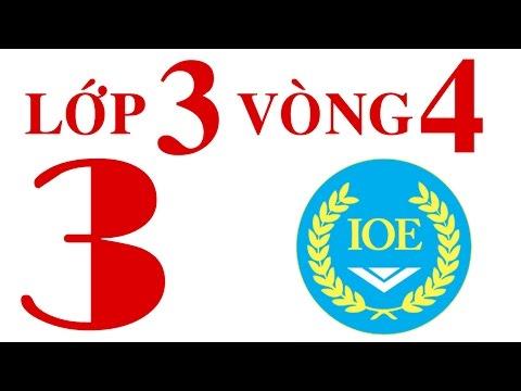 IOE Olympic Tiếng Anh lớp 3 vòng 4 năm 2014-2015