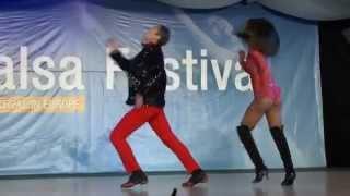 Croatian Summer Salsa Festival 2012 - Show Adolfo Indacochea et Tania Cannarsa - salsa-guide.fr