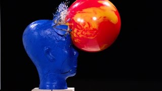 Bowling in Slow Motion with Blue Man Group - The Slow Mo Guys
