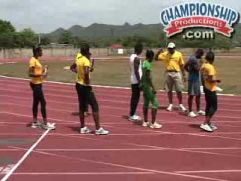 Maurice Wilson:  Sprinting the Jamaican Way - Relay Technique, Drills & Strategy