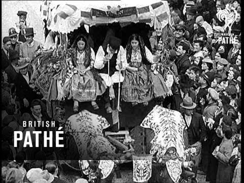 Italy - Ancient Ceremony Aka Procession Of Of St. Epislio Lner (1937)