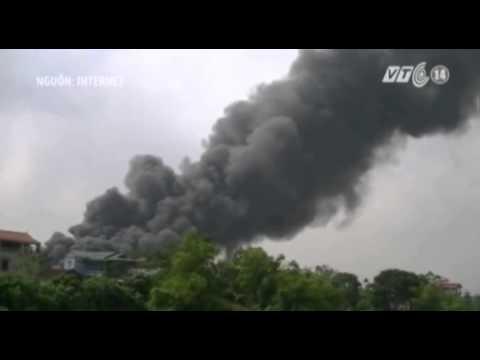 VTC14_Hà Nội: Cháy lớn tại xưởng sản xuất đệm mút
