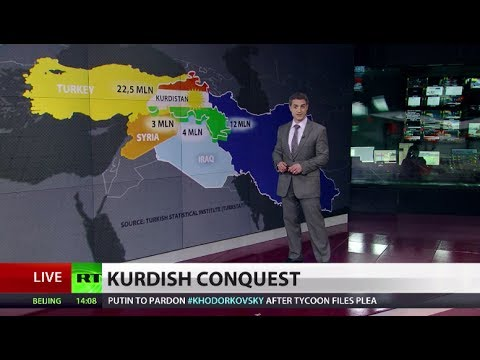 New country in Mideast? Kurds aim to create own state amid conflicts