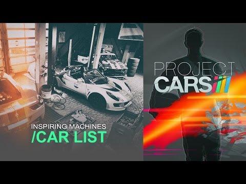 project cars pr sentation des voitures the racing line. Black Bedroom Furniture Sets. Home Design Ideas