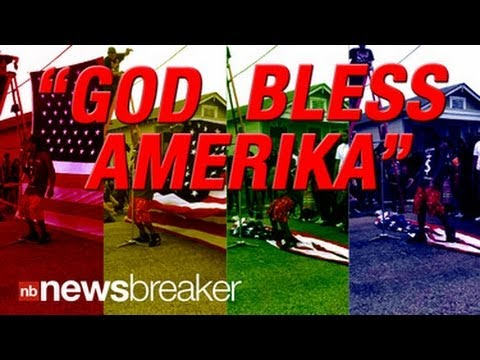 AMERIKA?: Rapper Lil Wayne Stomps American Flag for New Music Video