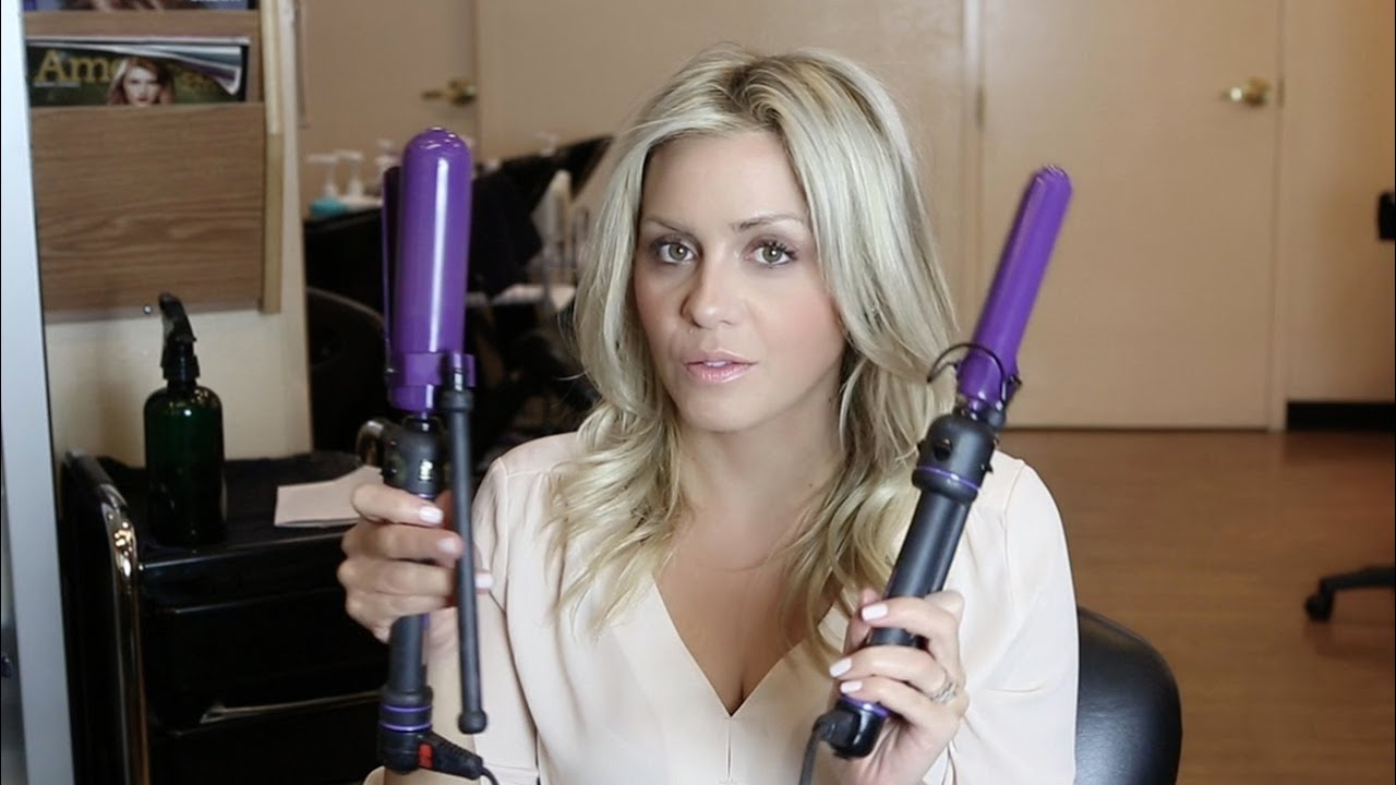 The Right Curling Iron For Lasting Curls Youtube