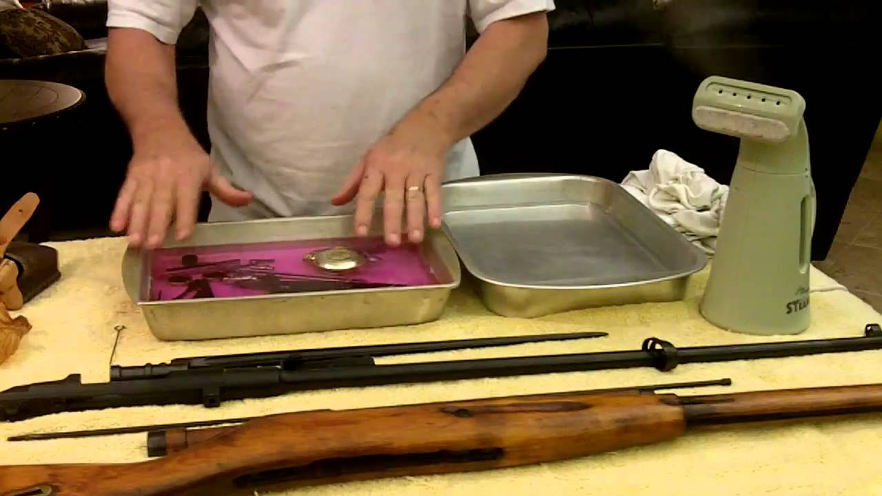 how to clean cosmoline off a mosin nagant