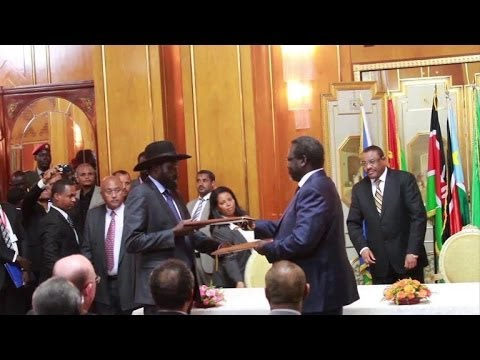 US hails S. Sudan peace deal, urges swift implementation