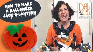 Polymer Clay Tutorial How To Make A Halloween Jack-O