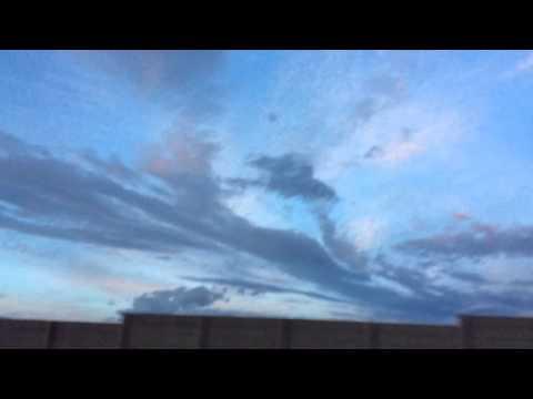 America. Las Vegas. Clouds, concern for our Crimea. 3.2.201