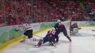 USA 2-3 Canada Men's Ice Hockey Gold Medal Match