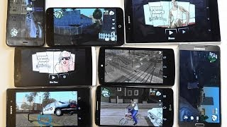 Как GTA San Andreas идет на Nexus 5, Xperia Z1, Note 3