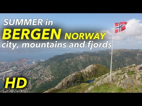 Best summer in Bergen and the fjords of Norway 2013! [HD]