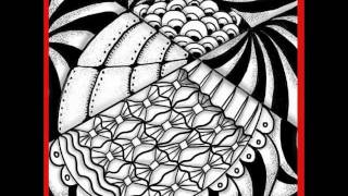 Video Spooled A Super Easy Zendoodle Pattern