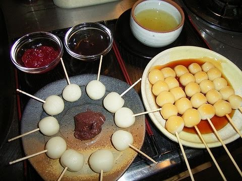 How to make Dango みたらし団子の作り方, Mitarashi dango is the one of the most famous dango in Japan. It's dango with sweetened soy sauce. Also you can just try whatever sauce you think it works wi...