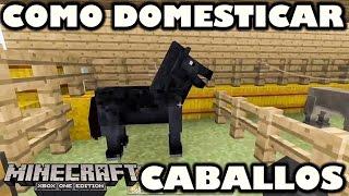 Domesticar caballos en Minecraft