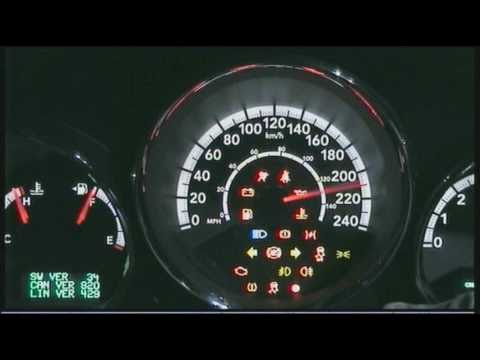 Instrument Cluster 2010 Dodge Caliber Youtube