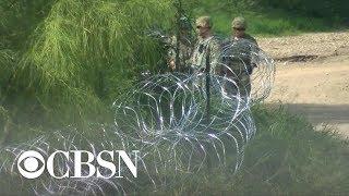 U.S. troops prepare for migrant caravan