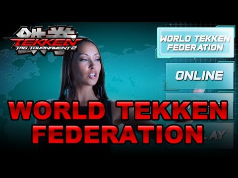 Tekken Tag Tournament 2 - PS3/X360 - Welcome the World Tekken Federation! (Gamescom 2012) -lnQqxrFV-AE