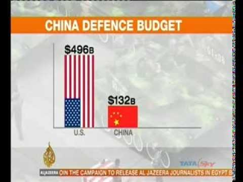 China targets 7.5% growth and increases defence budget