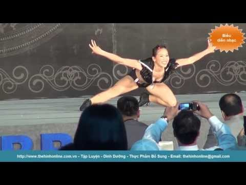 Hội thi chân dài thể hình cà fitness châu Á