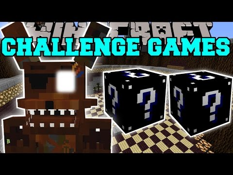 Minecraft: PHANTOM FOXY CHALLENGE GAMES - Lucky Block Mod - Modded Mini-Game