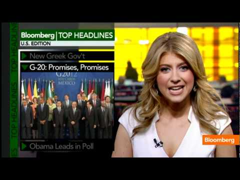 Top Headlines: New Greek Gov't, G-20 Promises