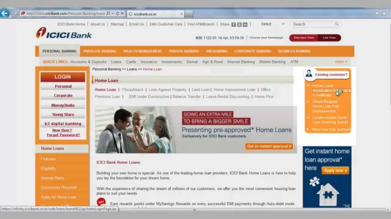 Service Charges & Fees for Personal Loans