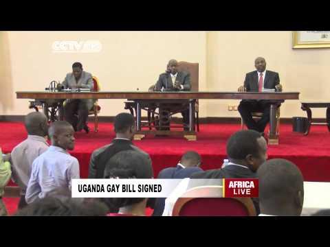 Uganda's Anti-gay Bill Signed into Law