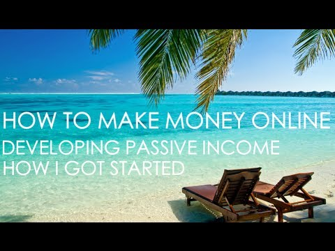 How To Make Money Online Passive Income - How I Got Started Circa 2009