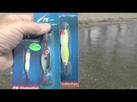 PK Lures Flutterspoon and Spoon Free Fishing Video by WillCFish Will see Fish.
