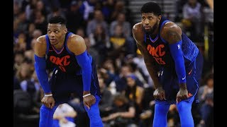 Paul George and Russell Westbrook are LOCKING UP   2018-19 OKC Defense Mix