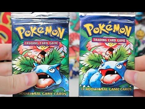 Opening 2 Pokemon Base Set Booster Packs!!