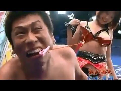 Gameshow Nhật Bản - Tụt áo ngực 18+ bựa vô đối =))