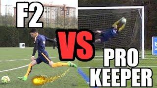 EPIC BATTLE   F2 VS PRO KEEPER!